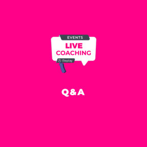 Q/A session – March 2021