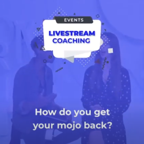How do you get your mojo back?